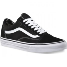 Vans Old Skool (Black/White) Men's Shoes