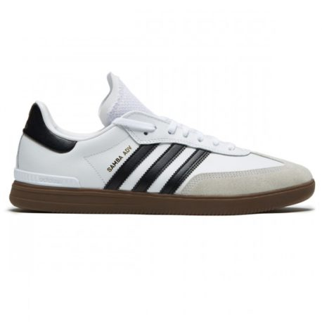 Adidas Samba ADV Shoes (White-Core Black-Gum) – P5400