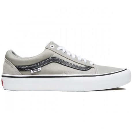 Vans Old Skool Pro Shoes (Drizzle-Black-White) – P4880