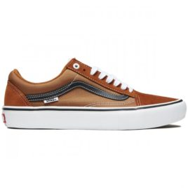 Vans Old Skool Pro Shoes (Glazed Ginger/Black/White)