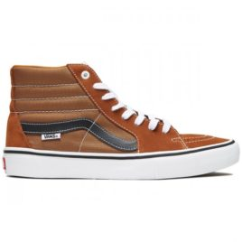 Vans Sk8-Hi Pro Shoes (Glazed Ginger/Black/White)
