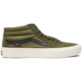 Vans Sk8-Mid Pro Shoes (Winter Moss)