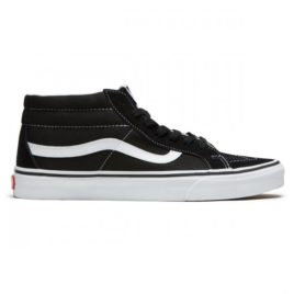 Vans Sk8-Mid Reissue Shoes (Black/True White)
