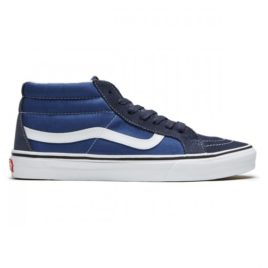 Vans Sk8-Mid Reissue Shoes (Parasian Night/True White)