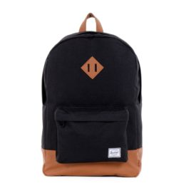 Herschel Supply Co. Heritage (Black-Tan) Backpack