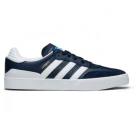 Adidas Busenitz Vulc Rx Shoes (Collegiate Navy/White/Bluebird)