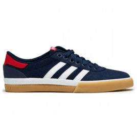 Adidas Lucas Premiere Shoes (Collegiate Navy/White/Scarlet)