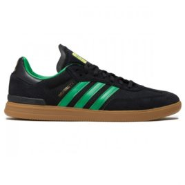 Adidas Samba ADV X Rodrigo TX Shoes (Core Black/Green/Gum)