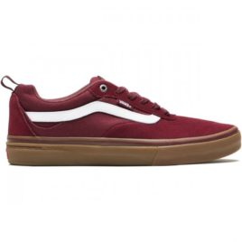 Vans Kyle Walker Pro Shoes (Burgundy/White/Gum)