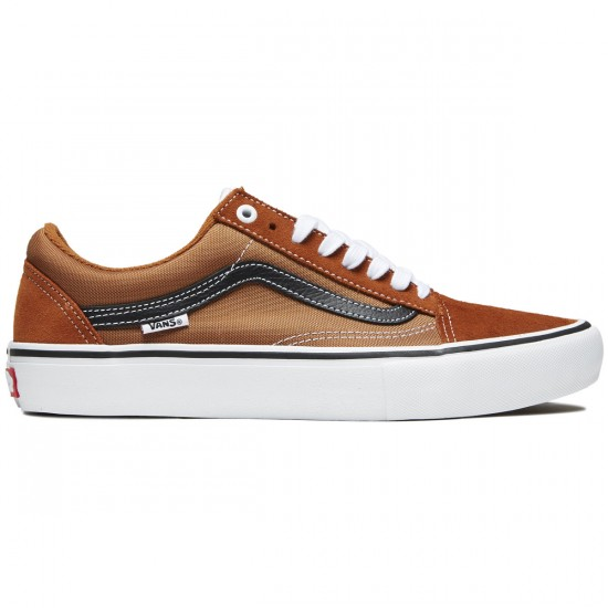 Vans Old Skool Pro Shoes (Glazed Ginger-Black-White) – P4880 5754419da