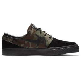 Nike SB Zoom Stefan Janoski OG Shoes (Black/Medium Olive/White/Black)