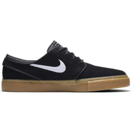 Nike SB Zoom Stefan Janoski Shoes (Black/Gum Light Brown/White)