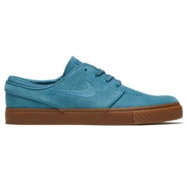 Nike Zoom Stefan Janoski Shoes (Noise Aqua/Thunder Blue/Gum Dark Brown/Noise Aqua)