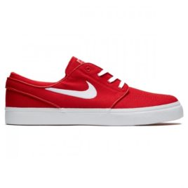 Nike Zoom Stefan Janoski Canvas Shoes (University Red/White)