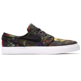 Nike SB Zoom Stefan Janoski Canvas (Multi-Color/White/Gum Light Brown/Black)