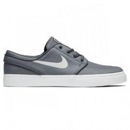 Nike Zoom Stefan Janoski Canvas Shoes (Dark Grey/Light Bone/Black)