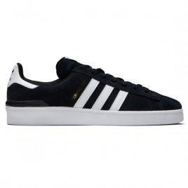 Adidas Campus ADV Shoes (Black/White/White)