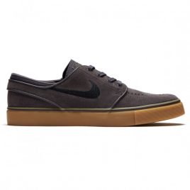 Nike Zoom Stefan Janoski Shoes (Thunder Grey-Black Gum-Light Brown)