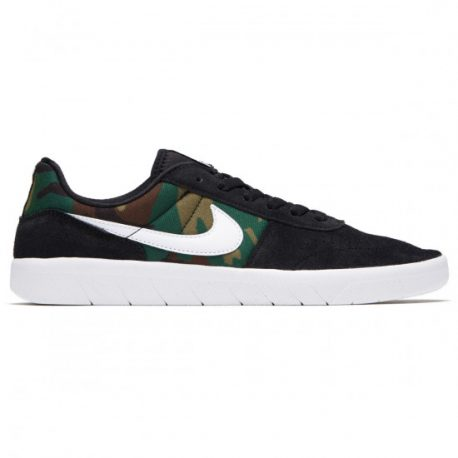 Nike SB Team Classic Shoes (Black-White) – P5200