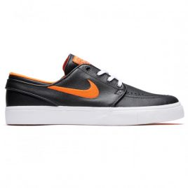 Nike SB x NBA Zoom Janoski Shoes (Black/Brilliant Ornge/Rush Blue)
