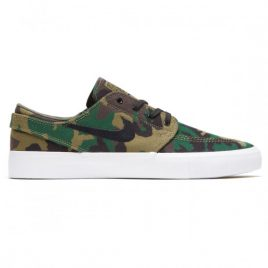 Nike SB Zoom Janoski Canvas RM Premium Shoes (Iguana/Black/Sequoia/Gum Light Brown)