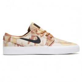 Nike SB Zoom Janoski Canvas RM Premium Shoes (Parachute Beige/Black/Ale Brown/White)