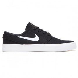 Nike SB Zoom Janoski RM Shoes (Black/White/Thunder Grey/Gum Light Brown)