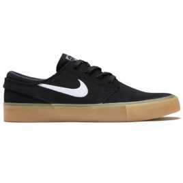 Nike SB Zoom Janoski RM Shoes (Black/White/Black/Gum Light Brown)