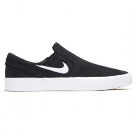 Nike SB Zoom Janoski Slip RM Shoes (Black/White/White)