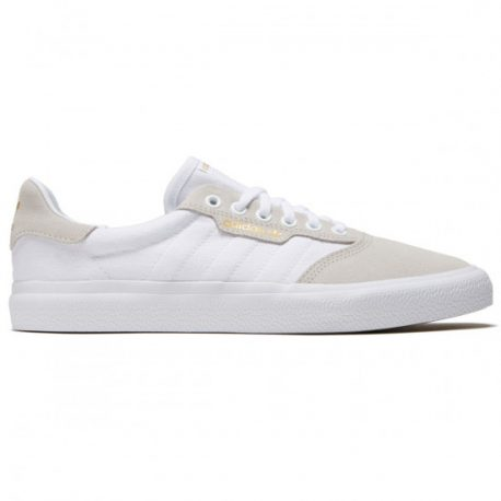 Adidas 3MC Shoes (White-Crystal White-Gold Metallic) – P5,450