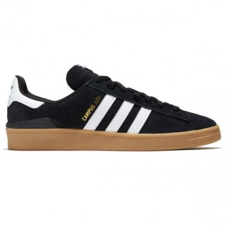 Adidas Campus ADV Shoes (Core Black-White-Gum) – P6400