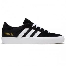 Adidas Matchbreak Super Shoes (Black/White/Gold Metallic)