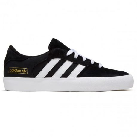 Adidas Matchbreak Super Shoes (Black-White-Gold Metallic)