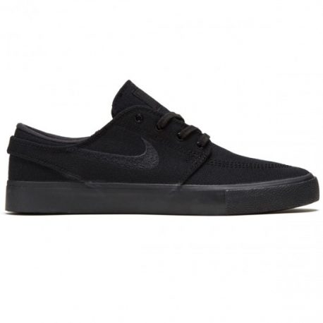 Nike SB Zoom Janoski Canvas RM Shoes (Black-Black-Black-Black)