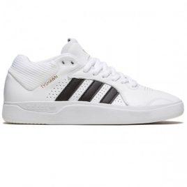 Adidas Tyshawn Shoes (White/Core Black/White)